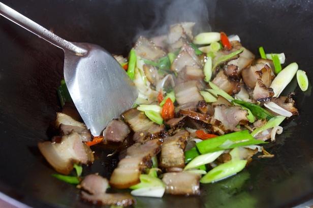 譚媽媽的臘肉002