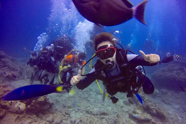 體驗潛水 綠島熱浪潛水中心提供
